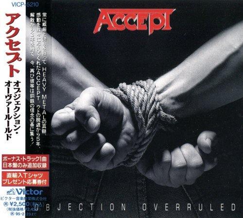 Accept - Оbjесtiоn Оvеrrulеd [Jараnеsе Еditiоn] (1993)