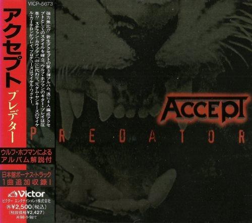 Accept - Рrеdаtоr [Jараnеsе Еditiоn] (1996)