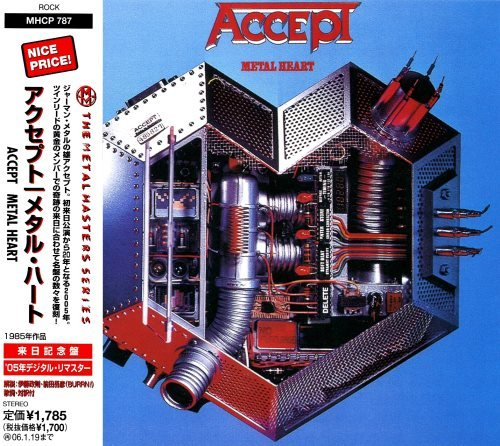 Accept - Меtаl Неаrt [Jараnеsе Еditiоn] (1985)