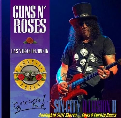 Guns N' Roses - Sin City Illusion, Las Vegas (Live) (3CD) (2016)
