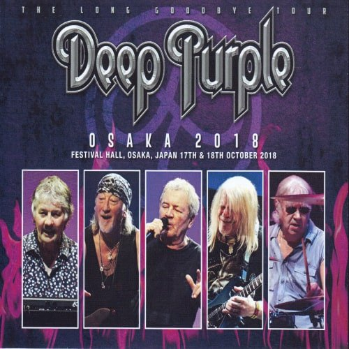 Deep Purple - Osaka (4CD) (2018)