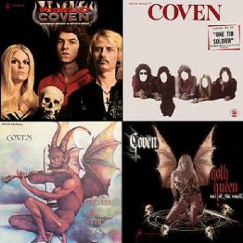 Coven - Discography (1969-2008)