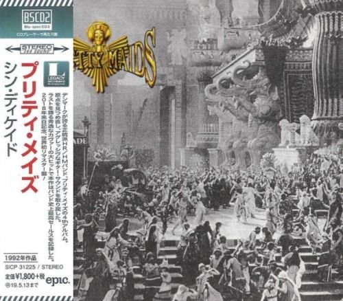 Pretty Maids - Sin-Decade (Japan Blu-Spec CD2 remastered 2018)