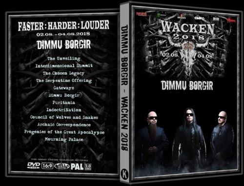 Dimmu Borgir - Live at Wacken (2018) (UHDTVRip, 1080p)