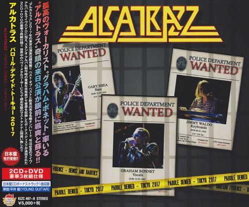Alcatrazz - Parole Denied - Tokyo 2017 (Japanese Ed.) [2CD+DVD] (2018)