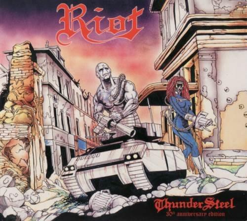 Riot - ТhundеrStееl (30th Аnnivеrsаrу Еditiоn) (1988) [2018]