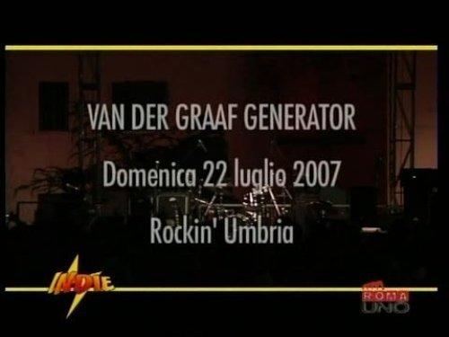Van der Graaf Generator - Live at Rockin' Umbria, Italy 2007