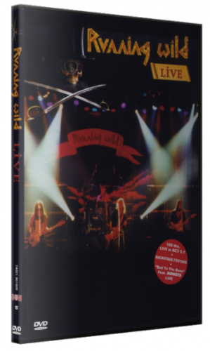 Running Wild - Live  (2002/2018, DVD9)