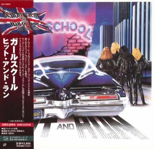 Girlschool - Нit аnd Run [Jараnеsе Еditiоn] (1981) [2009]