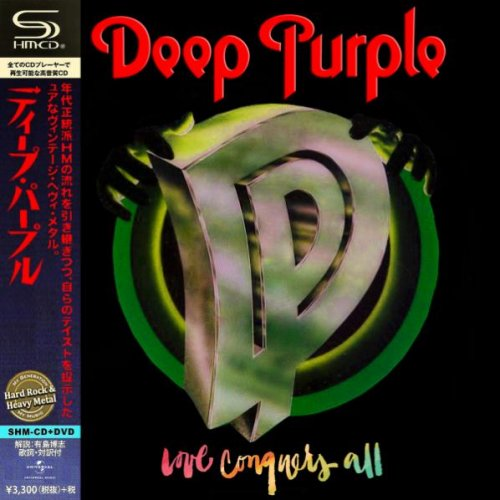 Deep Purple - Love Conquers All (2019) (Compilation) (Japanese Edition)