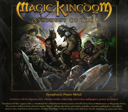 Magic Kingdom - Sуmрhоnу Оf Wаr [2СD] (2010)