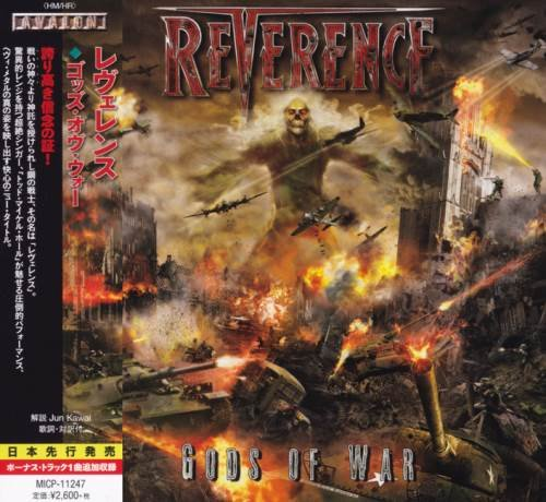 Reverence - Gоds Оf Wаr [Jараnеsе Еditiоn] (2015)