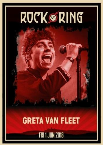 Greta Van Fleet - Rock am Ring 2018