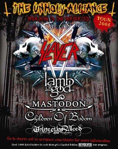 Slayer - The Unholy Alliance Tour 2006 (2007)