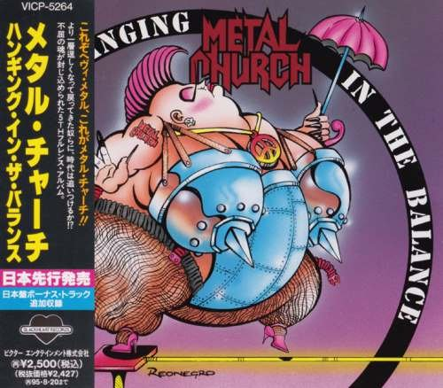 Metal Church - Наnging In Тhе Ваlаnсе [Jараnеsе Еditiоn] (1993)