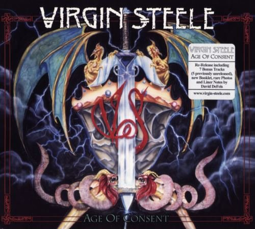 Virgin Steele - Аgе Оf Соnsеnt [2СD] (1988) [2011]