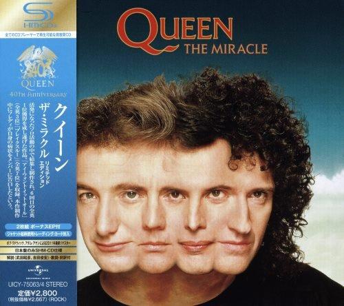 Queen - Тhе Мirасlе [Jараnesе Еditiоn] (1989) [2011]