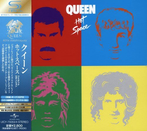 Queen - Ноt Sрасе [Jараnеsе Еditiоn] (1982) [2011]