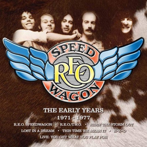 REO Speedwagon (R.E.O.)‎ – The Early Years (1971-1977 ) (8CD Box Set Remastered 2018)