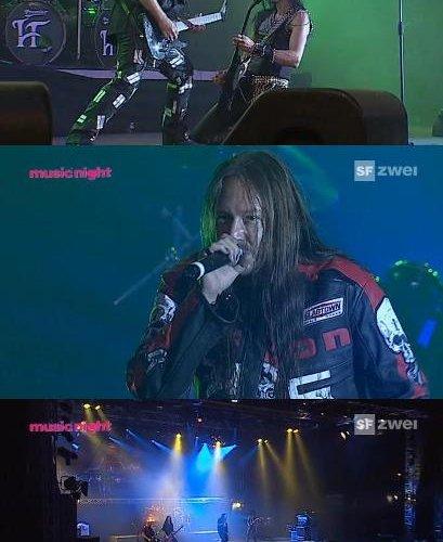 Hammerfall - Live at Rocksound Festival 2007