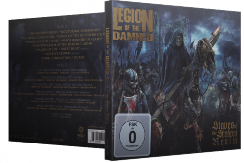 Legion Of The Damned - Slaves Of The Shadow Realm (2019) (Bonus DVD) (DVD5)