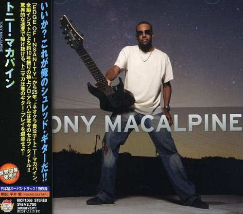 Tony MaCalpine - Tony MaCalpine (Japan Edition) (2011)