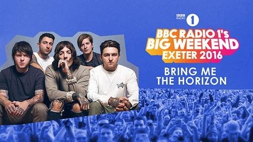 Bring Me The Horizon - BBC Radio 1's Big Weekend (2016)
