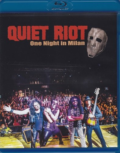 Quiet Riot - One Night in Milan (2019) (Blu-ray, 1080i+DVD9)