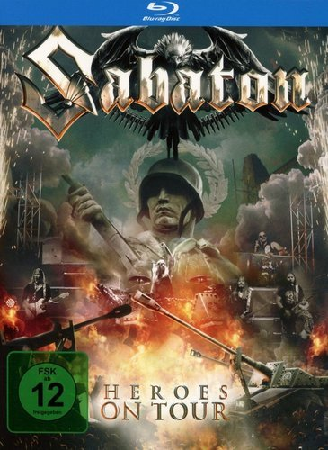 Sabaton - Heroes on Tour (2016) (BDRip, 720p)