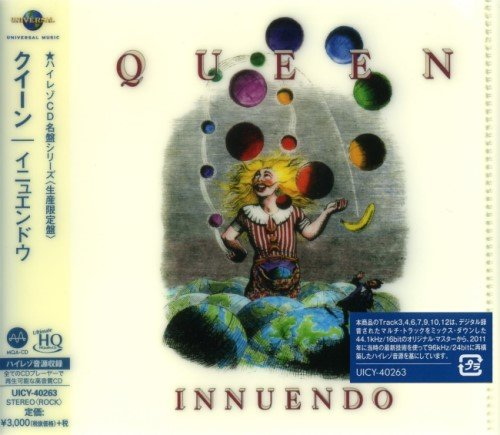 Queen - Innuеndо [Jараnеsе Еditiоn] (1991) [2019]