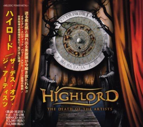 Highlord - Тhе Dеаth Оf Тhе Аrtists [Jараnеsе Еditiоn] (2009)