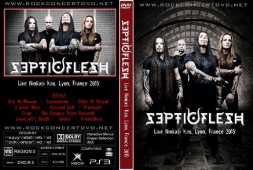 SepticFlesh - Live at Ninkasi Kao, Lyon, France 2015
