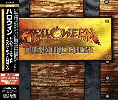 Helloween - Тrеаsurе Сhеst (3СD) [Jараnеsе Еditiоn] (2002)
