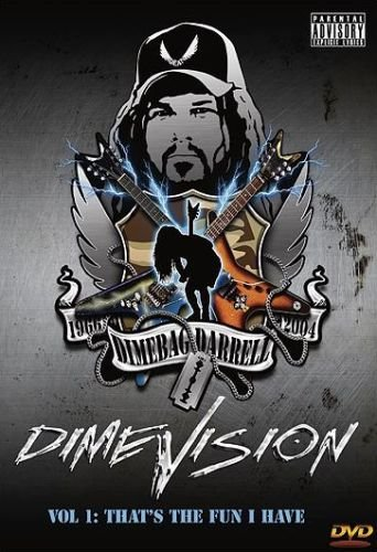 DimeVision Vol. 1: That's The Fun I Have (Dimebag Darrell, Pantera, Damageplan) (2006) (DVD5)
