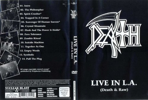 Death - Live In L.A. (Death & Raw) (2001) (DVD)