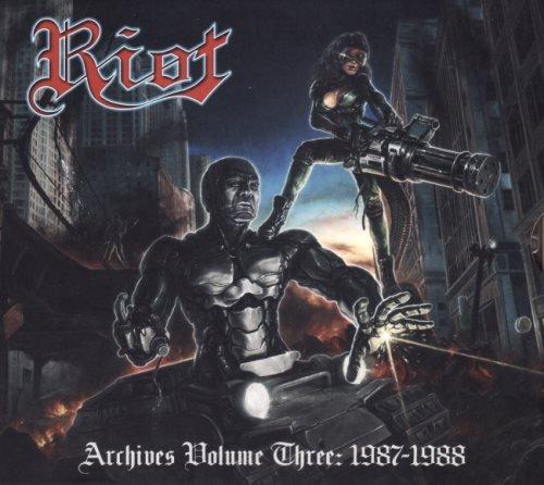 Riot - Аrсhivеs Vоlumе 3: 1987-1988 (2019)
