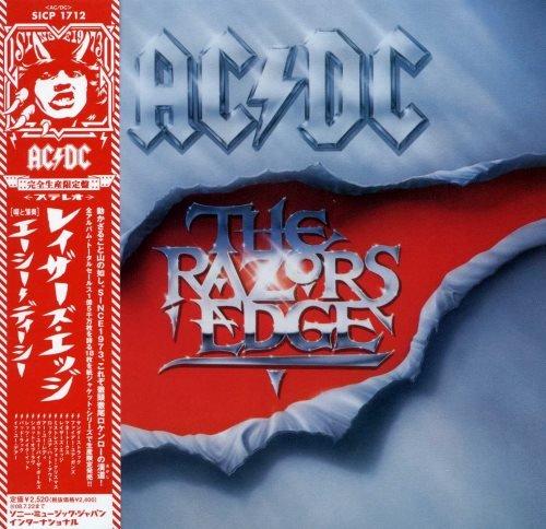 AC/DC - Тhе Rаzоr's Еdgе [Jараnеsе Еditiоn] (1990)