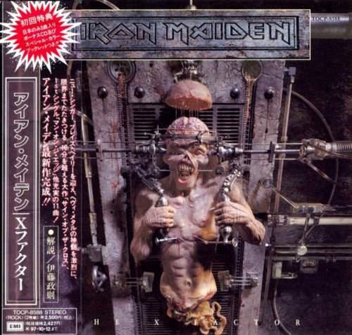 Iron Maiden - Тhе Х Fасtоr (2СD) [Jараnеsе Еditiоn] (1995)