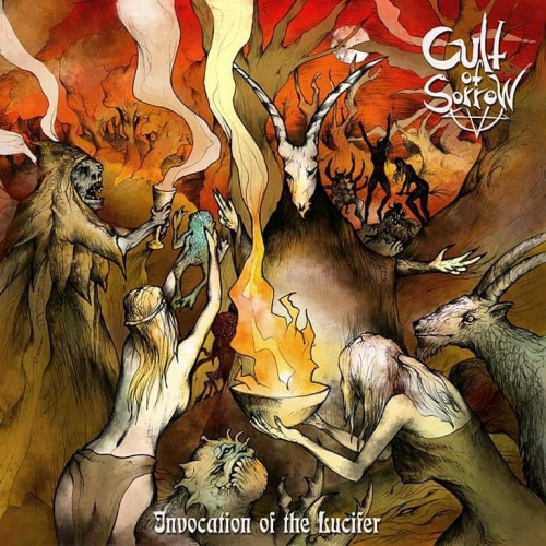 Cult of Sorrow - Invocation of the Lucifer (2019)