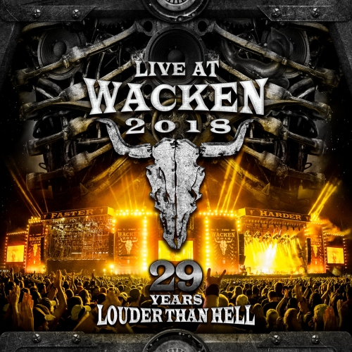 Various Artists - Live At Wacken 2018: 29 Years Louder Than Hell (2019)