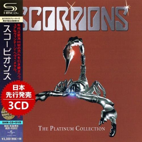 Scorpions – The Platinum Collection (3CD) (Japan SHM CD ) (2019)