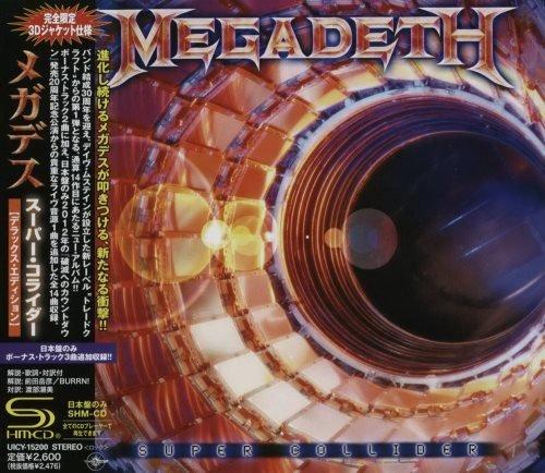 Megadeth - Suреr Соllidеr [Jараnеse Еdition] (2013)