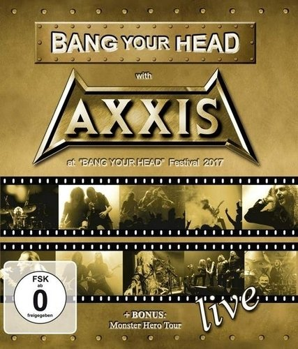 Axxis - Bang Your Head With Axxis (2019) (Blu-ray, 1080i)