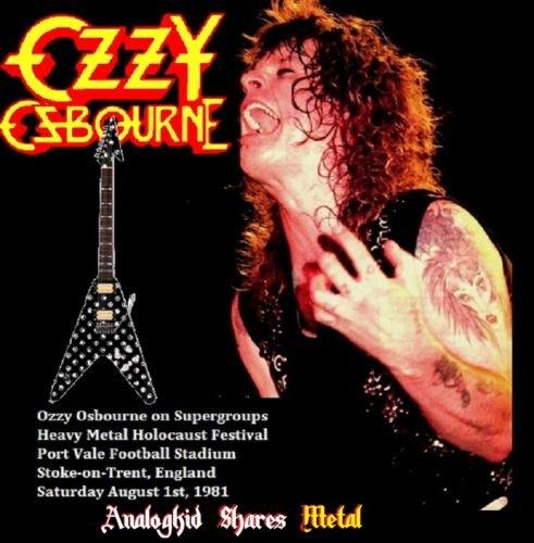 Ozzy Osbourne - Supergroups (1981) (SBD-FM) (2019)