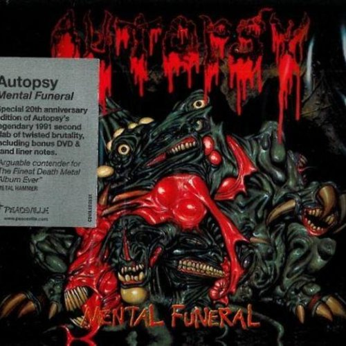 Autopsy - Mental Funeral (20th Anniversary Edition) (Bonus DVD) (2011)