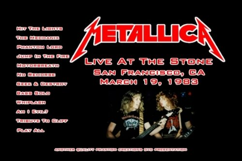 Metallica - Live At The Stone 1983