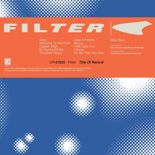 Filter - Title Of Record (Expanded Edition) (2019)