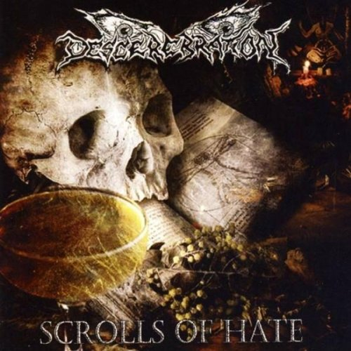 Descerebration - Scrolls Of Hate (2014)