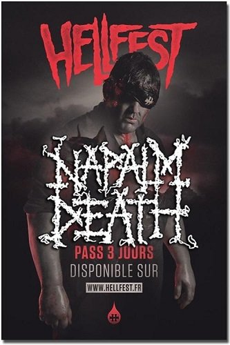 Napalm Death - Live At Hellfest (2016)