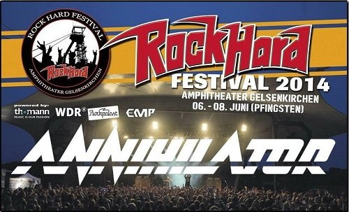 Annihilator - Live At Rock Hard Festival 2014